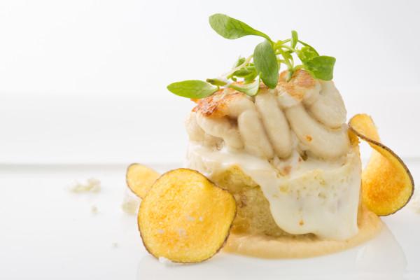 自家製の干し鱈と、その白子 バッカラマンテカート